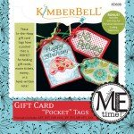 Kimberbell Gift Card Pocket Tags Machine Embroidery CD