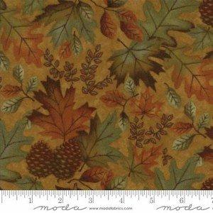 Fall Impressions Mustard Leaves