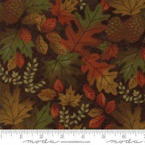 Fall Impressions Nutmeg Leaves