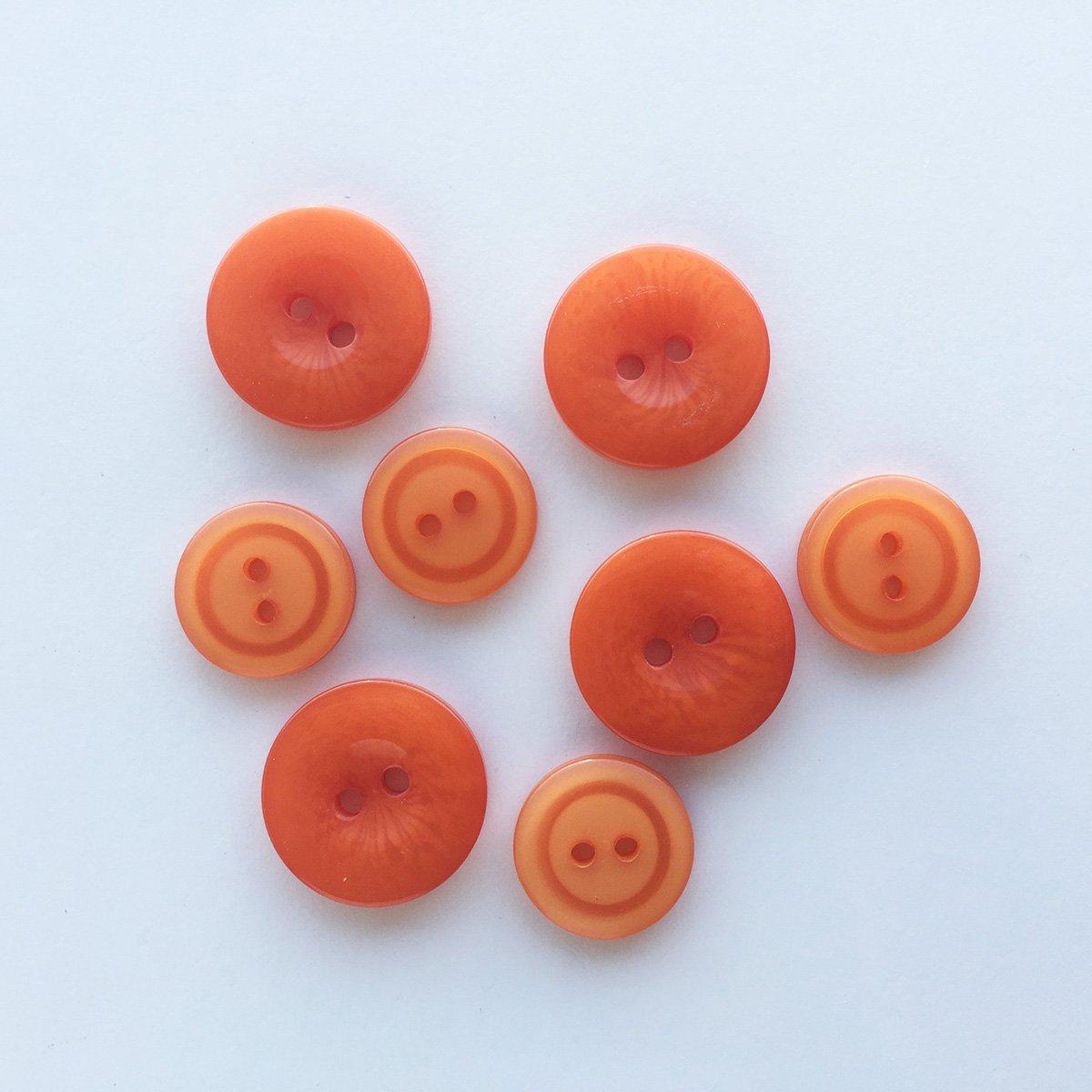 Button Up! Orange You Glad