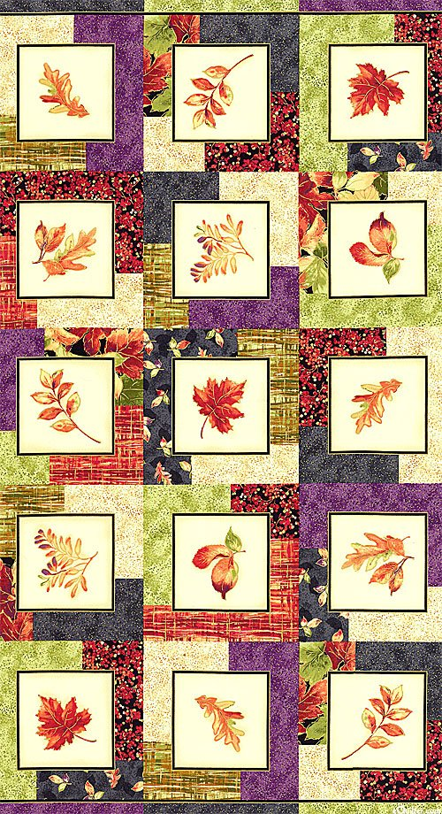 Multi Leaf Frames Metallic - Autumn Spice