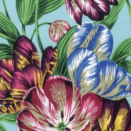 Tulip Extravaganza Multi Kaffe Fassett Spring 2017