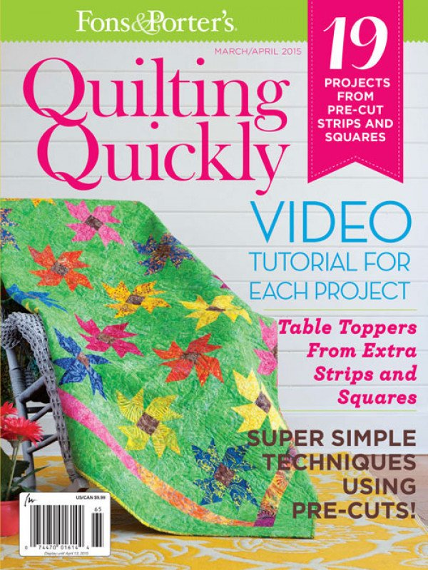 Quilting Quickly March/April 2015