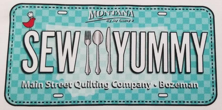 2019 Sew Yummy Lic Plate