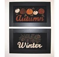 It's Autumn Framed Sample