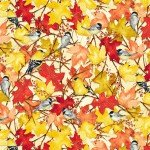 Butter Fall Leaves & Birds - Fall Feast