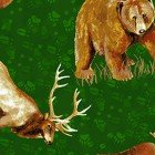 Open Sky- Dark Green Animals