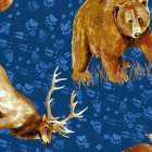 Open Sky- Royal Blue Animals