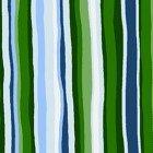 Open Sky- Green Stripe