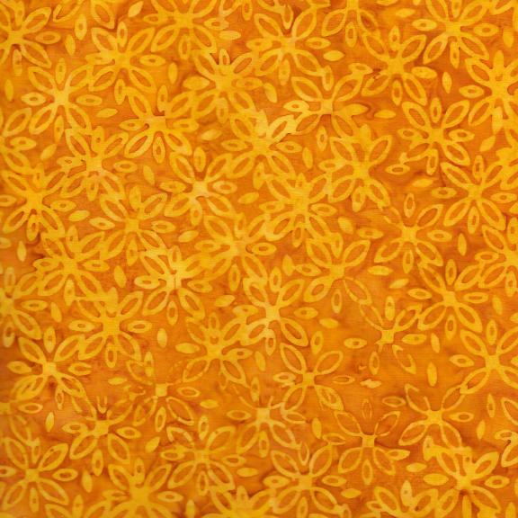 Kismet Daisy Cheddar Batik