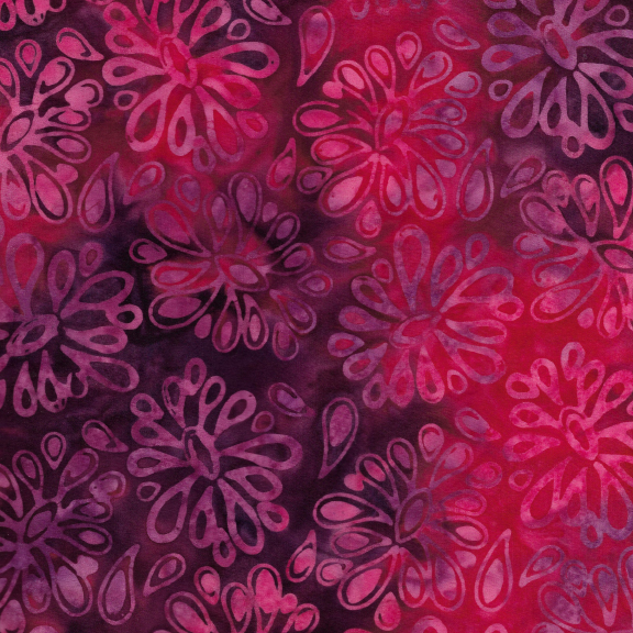 Kismet Funky Floral Punch Batik