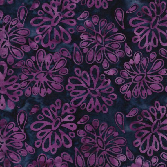 Kismet Funky Floral Iris Batik
