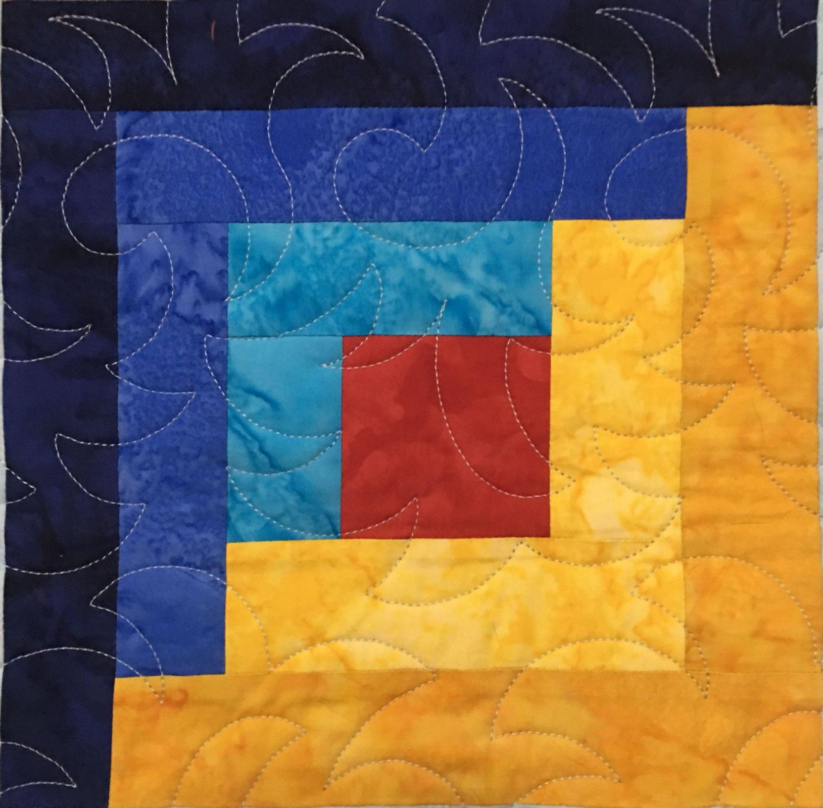 Home - Adventure Quilt Block One