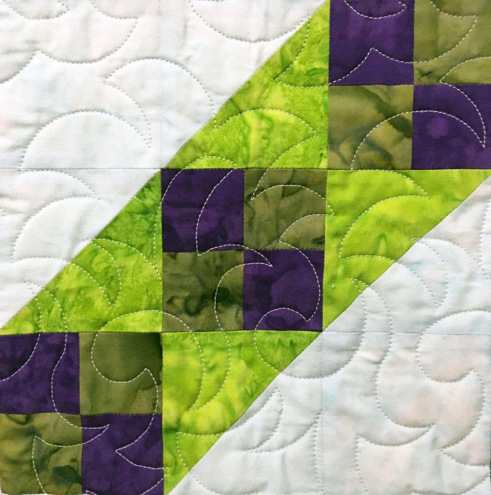 Milemarker - Adventure Quilt Block Two