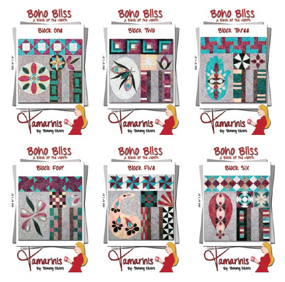 Boho Bliss Blocks 1 through 6