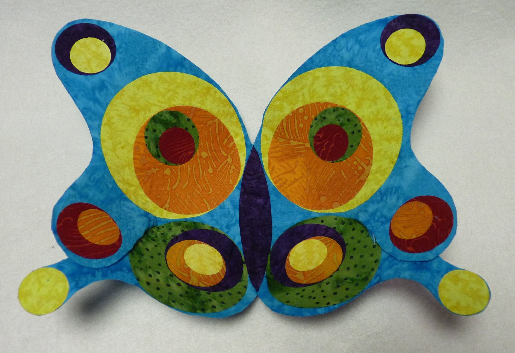Pop Art Butterfly Bowl