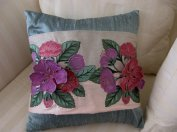 Pop Up Floral Pillow