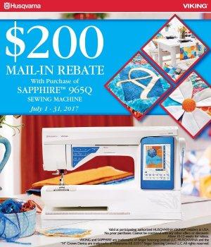 Sapphire Rebate