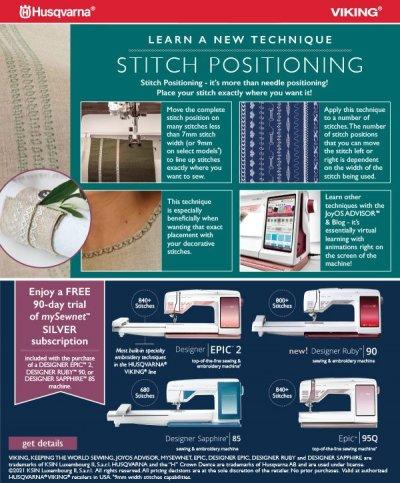 Stitch Positioning