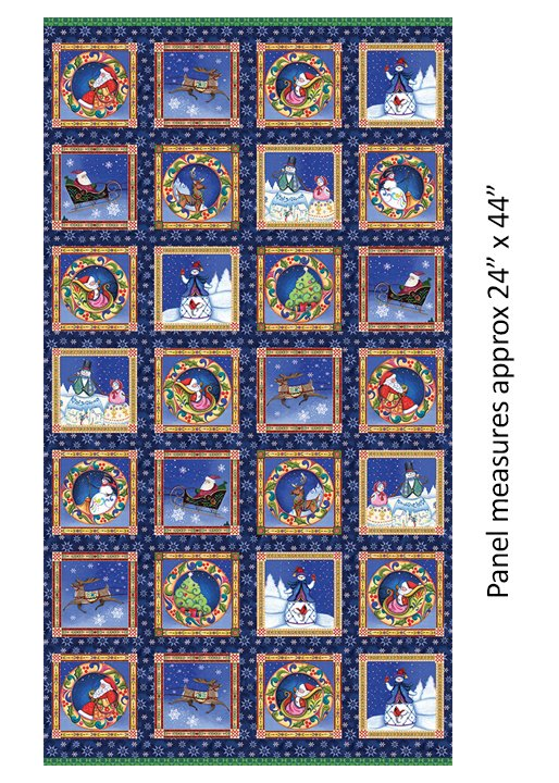 A Quilter's Christmas - panel