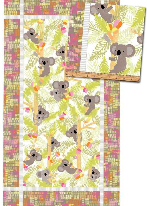 Koala Baby Flannel - panel