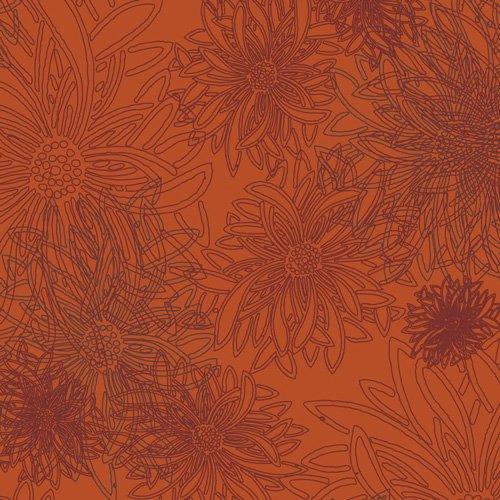 Floral Elements - Russet Orange