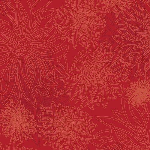 Floral Elements - Scarlet