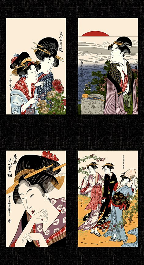 Geisha Gatherings - panel