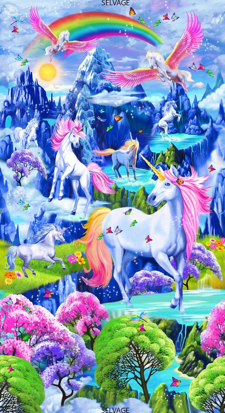 Majestic Unicorn Panel
