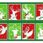 Peppermint Reindeer - panel