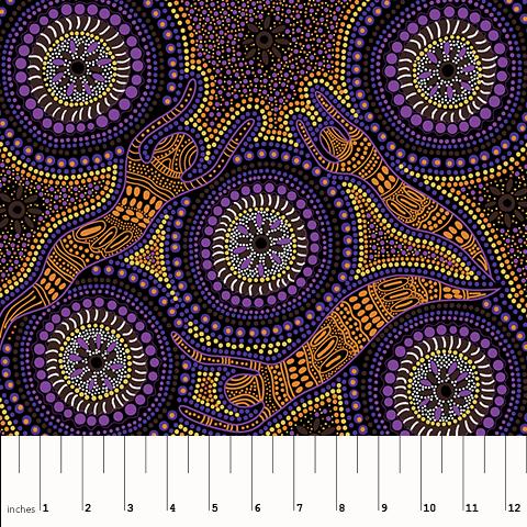 Winter Spirits - Purple