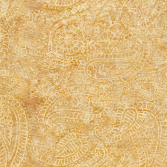 Twilight Chic Paisley Outlining Wheat