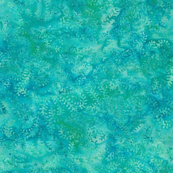 Flea Market Leaf Vine Turquoise