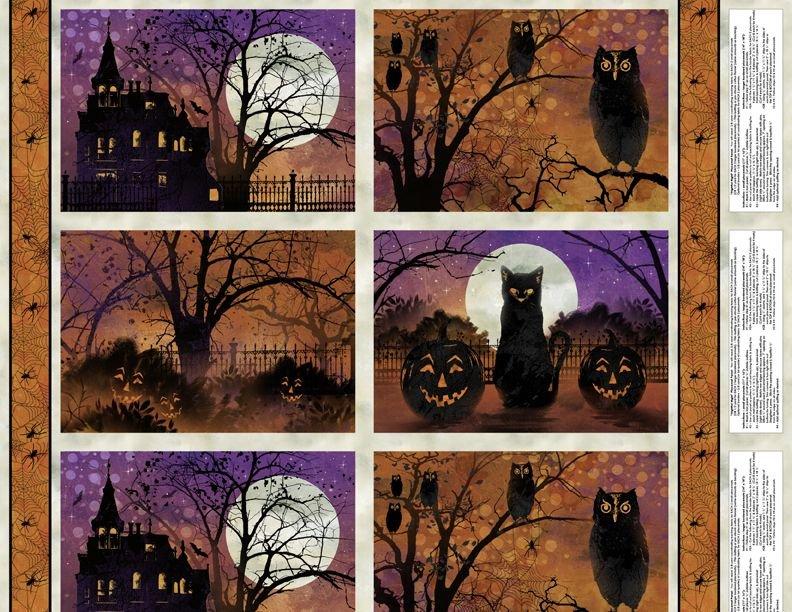 Frightful Night- Placemat Panel Multi