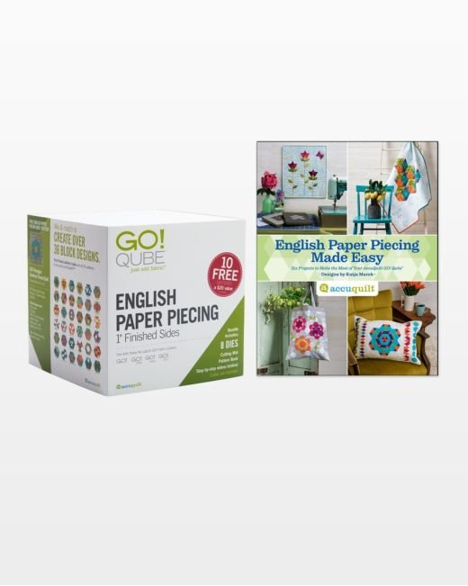 Go! Qube English Paper Piecing