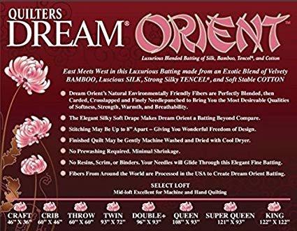 Quilter's Dream Orient Queen