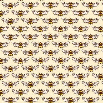 Berry Season Bees Eggshell