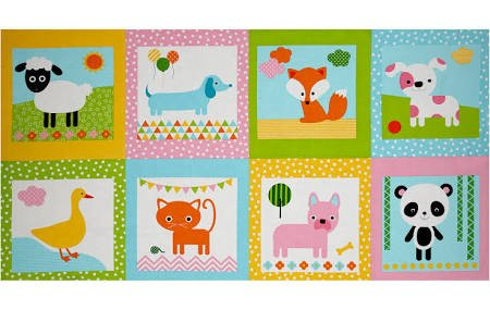 Animal Babies Panel