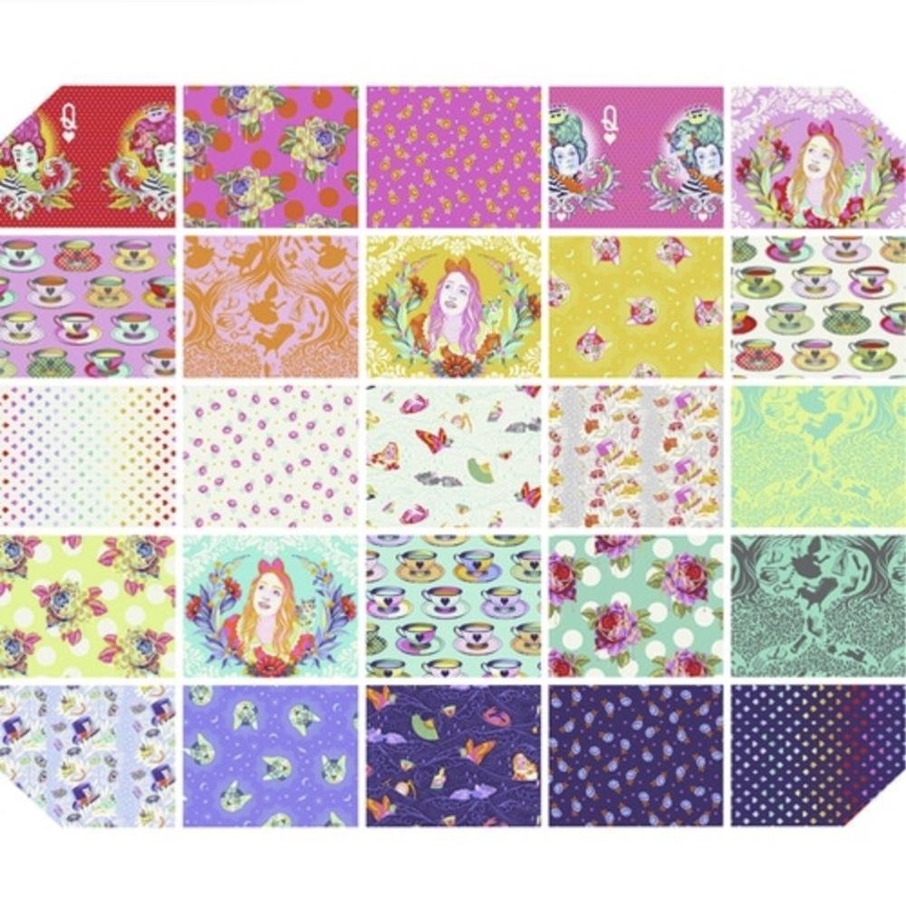 Pre-order Tula Pink's Curiouser and Curiouser Collection- 1 yard Bundle
