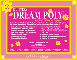 Quilter's Dream Black Poly Craft