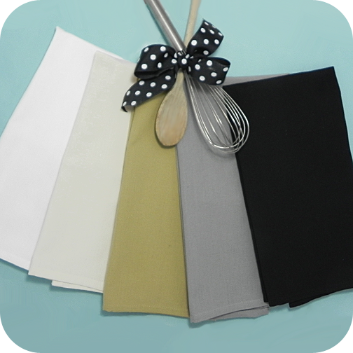 Plain Dishtowel Grey
