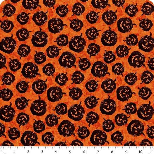 Frightful Night- Orange Pumpkin Toss