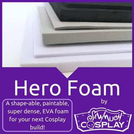 Cosplay Hero Foam 2MM Black