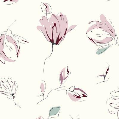 Avalana Jersey Flowers Rose