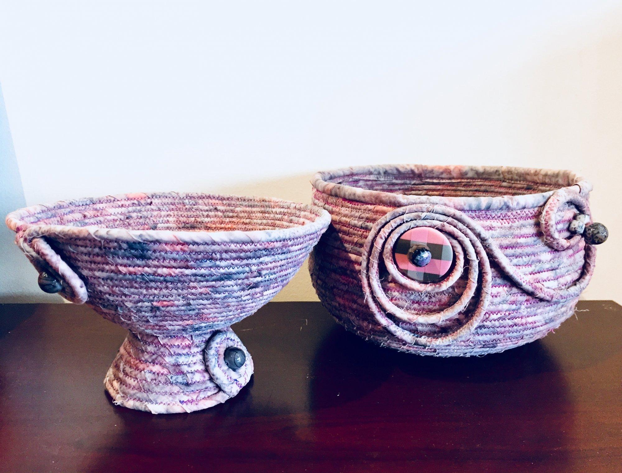 Fabric Bowls Class