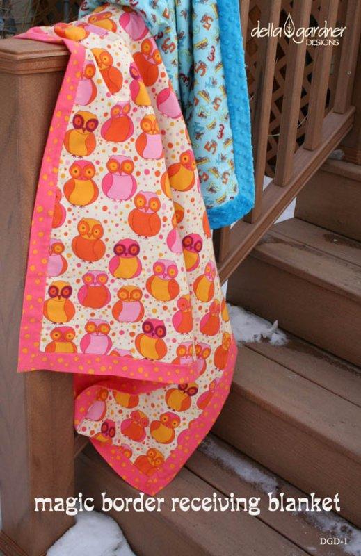 Magic Border Receiving Blanket Pattern