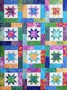 Lucky Stars Lap Size Quilt Kit
