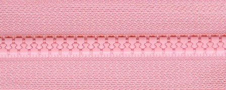 24 Zipper--Pale Pink, psz036