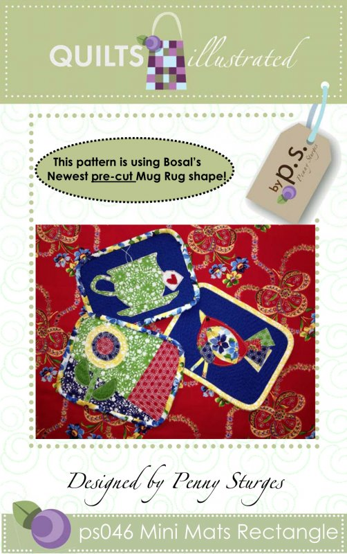 ps046/ps047 Mini Mats Pattern