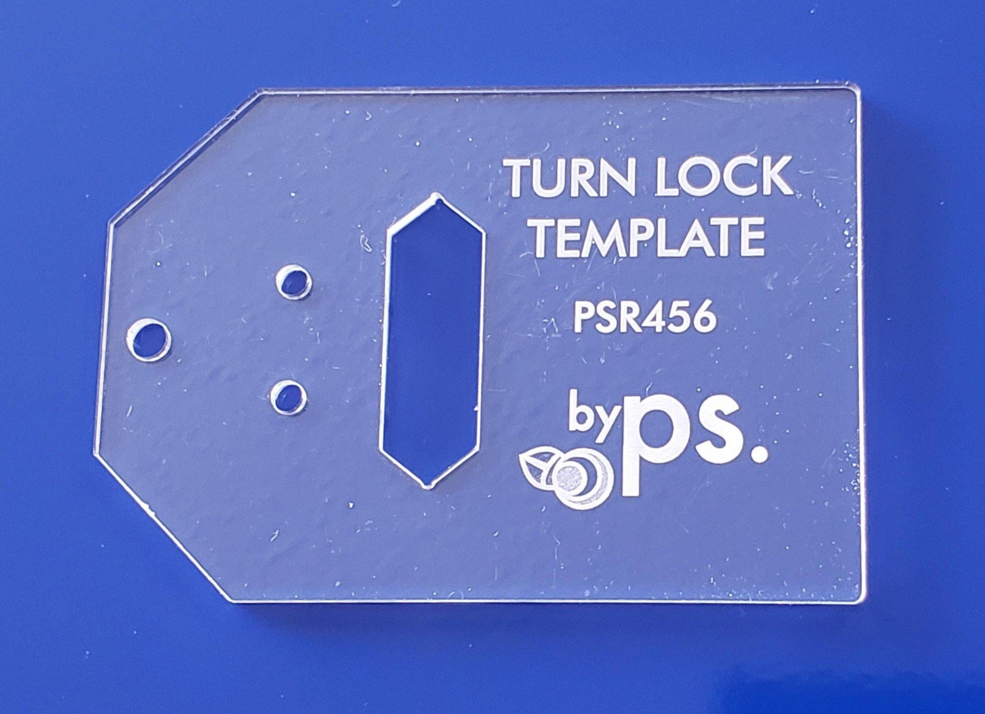 psr456 Turn Lock Template